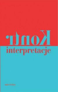 Kontrinterpretacje - okładka książki