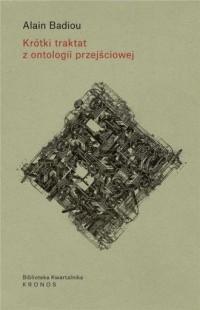 Krótki traktat z ontologii przejściowej - okładka książki