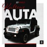 Kultowe Auta 18. Jeep Wrangler - okładka książki