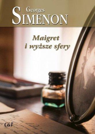 Maigret i wyższe sfery - okładka książki