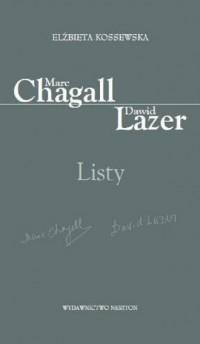 Marc Chagall-Dawid Lazer. Listy - okładka książki
