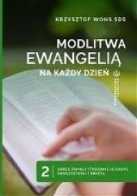 Modlitwa Ewangelią na każdy dzień. - okładka książki