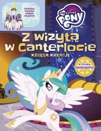 My Little Pony. Zamek Celestii. - okładka książki