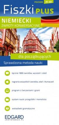 Niemieckii - Fiszki PLUS dla początkujących - okładka podręcznika