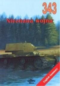 Nieznana wojna 343 - okładka książki