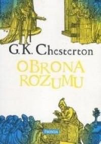 Obrona rozumu - okładka książki