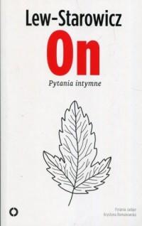 On. Pytania intymne - okładka książki