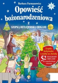 Opowieść Bożonarodzeniowa z szopką - okładka książki