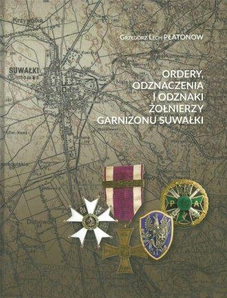 Ordery odznaczenia i odznaki żołnierzy - okładka książki