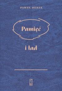 Pamięć i ład - okładka książki