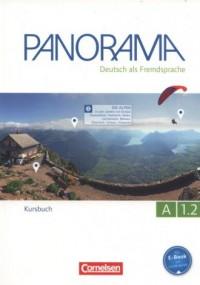 Panorama A 1.2 Kursbuch - okładka podręcznika