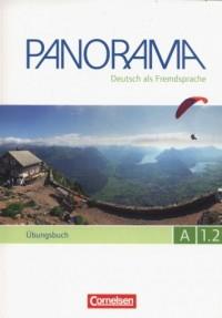 Panorama A 1.2 Ubungsbuch - okładka podręcznika