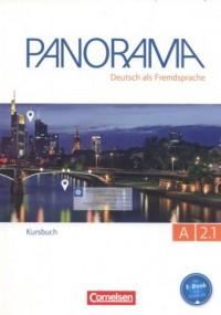Panorama A 2.1 Kursbuch - okładka podręcznika