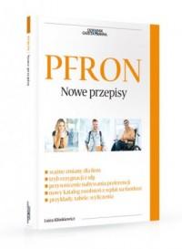 PFRON. Nowe przepisy - okładka książki