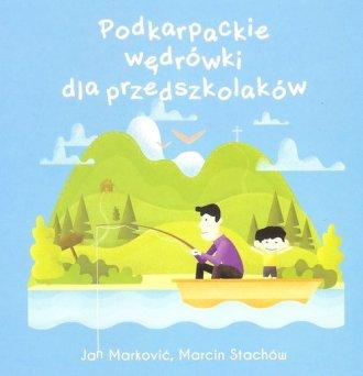 Podkarpackie wędrówki dla przedszkolaków - okładka książki