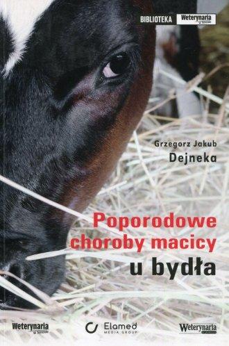 Poporodowe choroby macicy u bydła - okładka książki