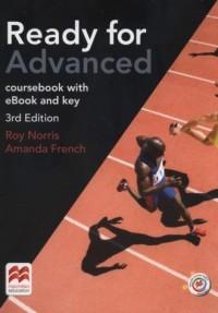 Ready for Advanced 3rd Edition Coursebook with eBook and key - okładka podręcznika