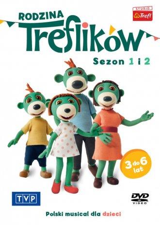 Rodzina Treflików. Sezon 1-2 - okładka filmu