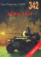 Sd Kfz 10/4. Tank Power vol. XCVIII - okładka książki