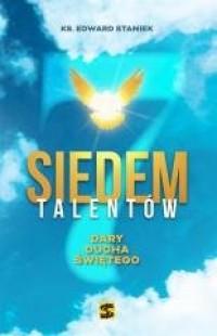 Siedem talentów. Dary Ducha Świetego - okładka książki
