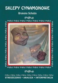 Sklepy cynamonowe Brunona Schulza. Streszczenie, analiza, interpretacja - okładka książki