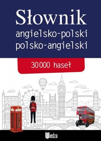 Słownik angielsko-polski polsko-angielski. - okładka książki
