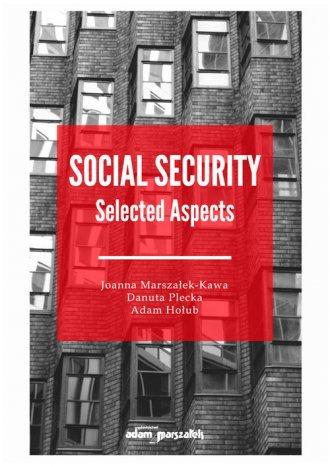 Social Security Selected Aspects - okładka książki