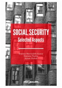 Social Security Selected Aspects - okładka książki
