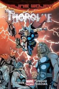 Tajne wojny. Thorowie - okładka książki