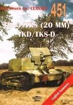 TK-3/TKS (20 MM) TKD/TKS-D Tank - okładka książki