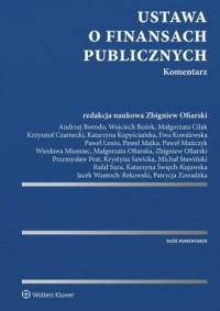 Ustawa o finansach publicznych. Komentarz - okładka książki