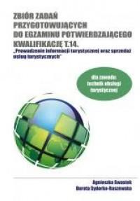 Zbiór zadań przygotowanie do egzaminu potwierdzającego kwalifikację T.14 - okładka podręcznika
