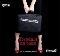 Zbrodnia na boku - pudełko audiobooku