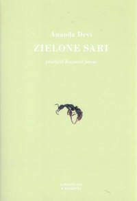 Zielone sari - okładka książki