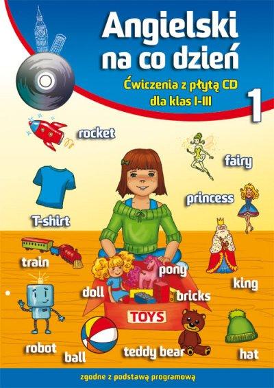 Angielski na co dzień 1. Ćwiczenia - okładka podręcznika
