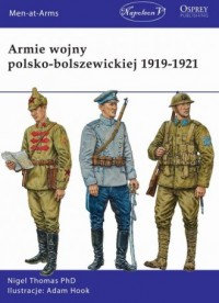 Armie wojny polsko-bolszewickiej 1919-1921 - okładka książki