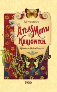 Atlas motyli krajowych - okładka książki