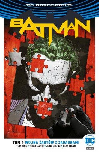 Batman. Tom 4. Wojna Żartów z Zagadkami - okładka książki