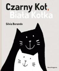 Czarny Kot. Biała Kotka - okładka książki
