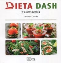 Dieta DASH w zastosowaniu - okładka książki