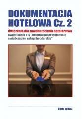 Dokumentacja hotelowa. Ćwiczenia - okładka podręcznika