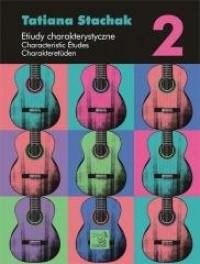 Etiudy charakterystyczne vol. 2 - okładka podręcznika