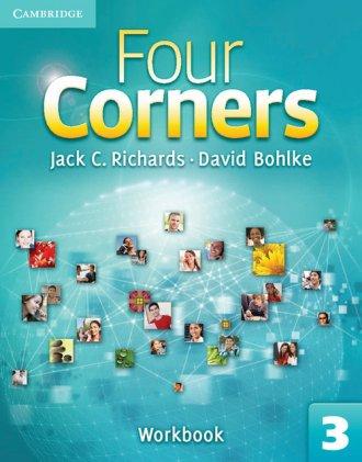 Four Corners 3. Workbook - okładka podręcznika