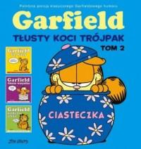 Garfield Tłusty koci trójpak. Tom - okładka książki