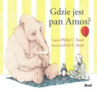 Gdzie jest pan Amos? - okładka książki