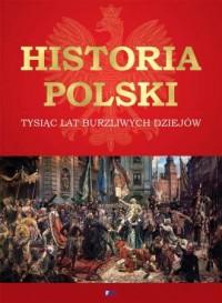 Historia Polski. Tysiąc lat burzliwych dziejów - okładka książki