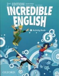 Incredible English 6. Activity Book - okładka podręcznika