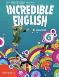 Incredible English 6 Class Book - okładka podręcznika