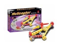 Klocki konstrukcyjne śmigłowiec 58 elementów - zdjęcie zabawki, gry