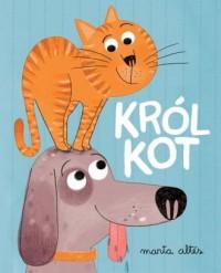 Król kot - okładka książki
